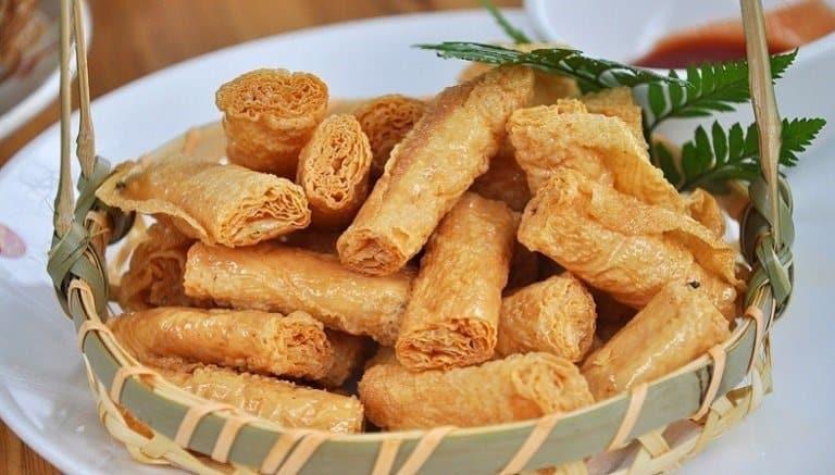 Đậu hũ rán giòn - Món ăn Hàng Châu
