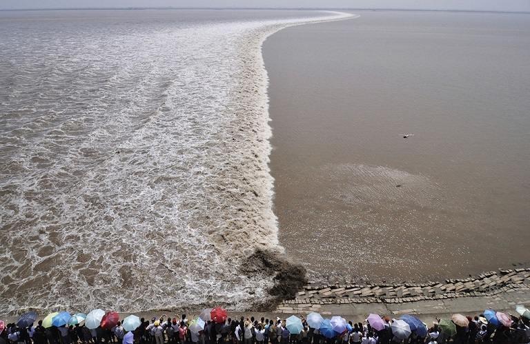 Lễ hội Thủy Triều Đỏ tại Hàng Châu