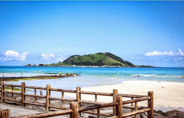 Bãi biển Jungmun - Địa điểm du lịch đảo Jeju