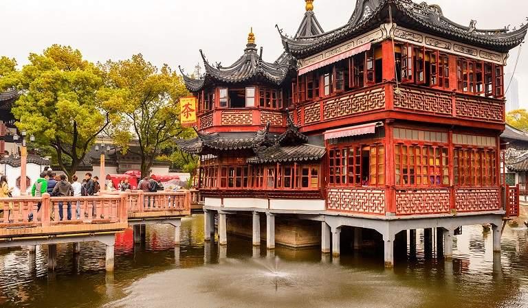 Dự Viên - Địa điểm du lịch Thượng Hải