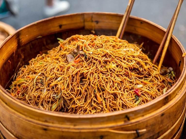 Mì sợi - Ẩm thực Thượng Hải