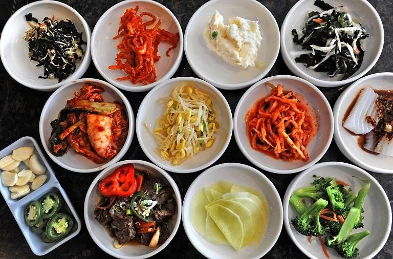 Các loại Panchan thường xuất hiện trong bữa ăn Hàn Quốc