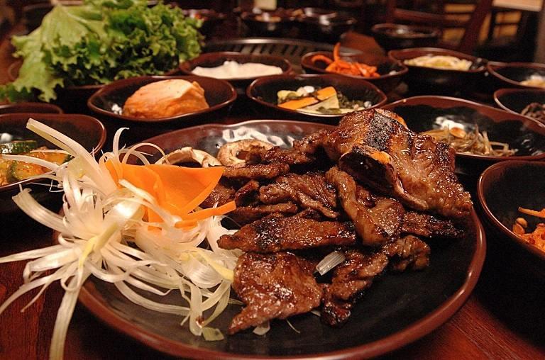 Thịt bò nướng Hàn Quốc