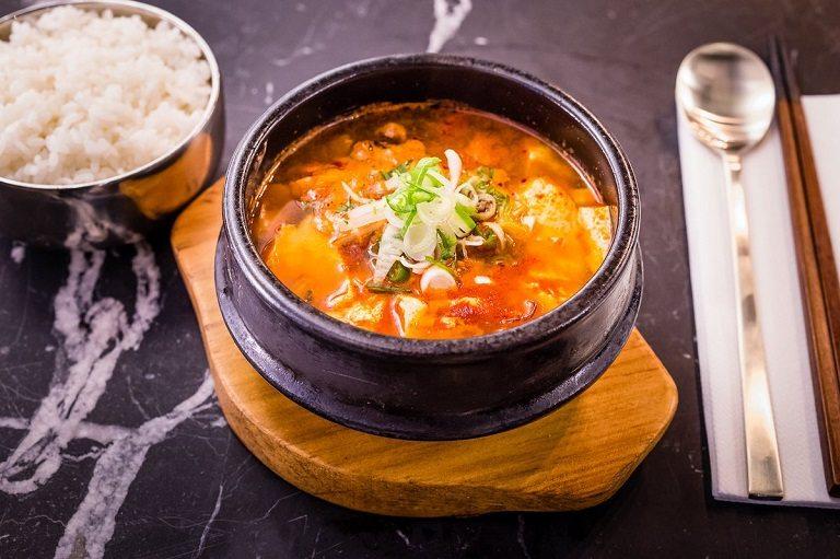 Soondubu jjigae - Món ăn Hàn Quốc