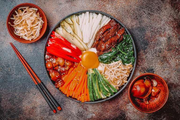 Bibimbap - Ẩm thực Hàn Quốc