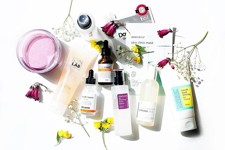 Các sản phẩm Skincare - hàng nội địa của Hàn Quốc