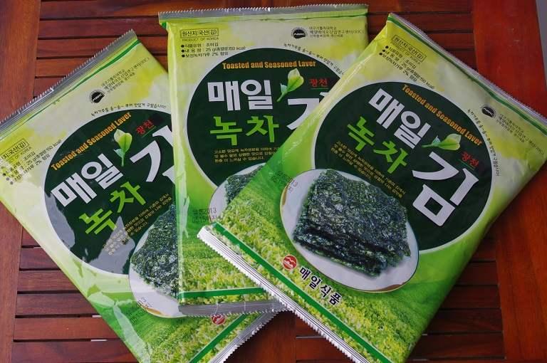 Sản phẩm từ rong biển Hàn Quốc