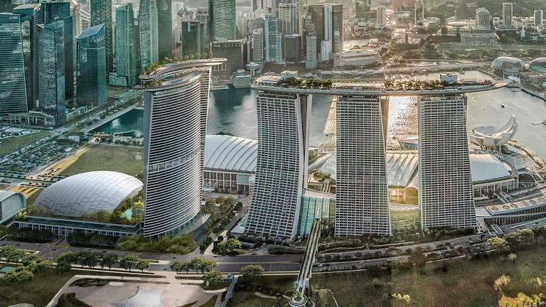 Vịnh Marina Bay Sands -Địa điểm du lịch Singapore