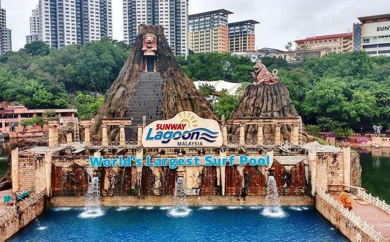 Công viên Sunway Lagoon - địa điểm du lịch tại Malaysia