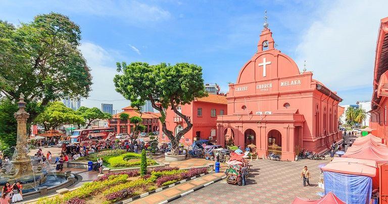 Thành phố Malacca - địa điểm du lịch tại Malaysia