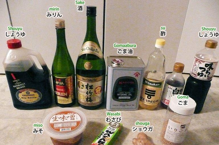 Một số gói gia vị món ăn Nhật được chế biến sẵn
