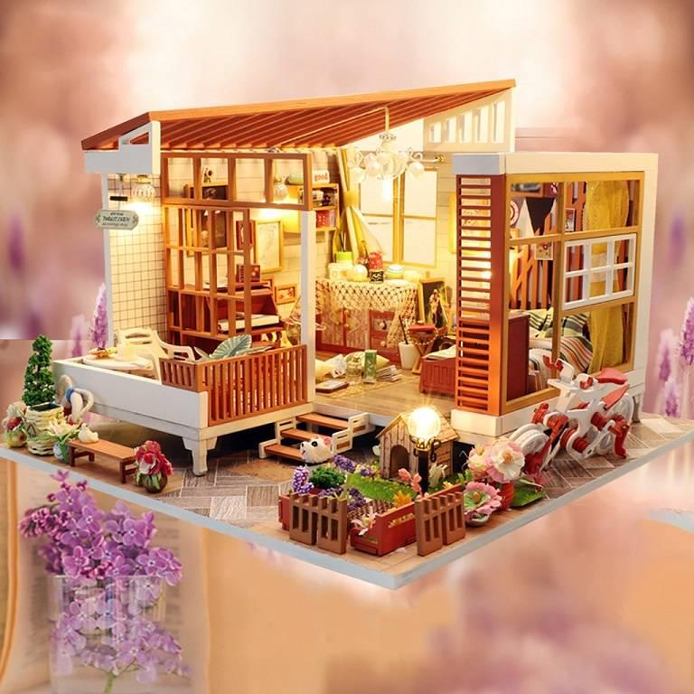 Bộ lắp ráp nhà truyền thống Nhật Bản - Món quà du lịch cho những người tỉ mẩn