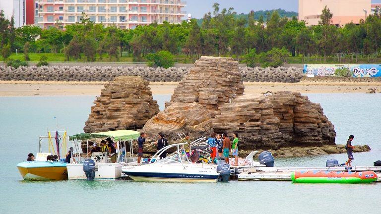 Bãi biển Araha - Địa điểm du lịch okinawa