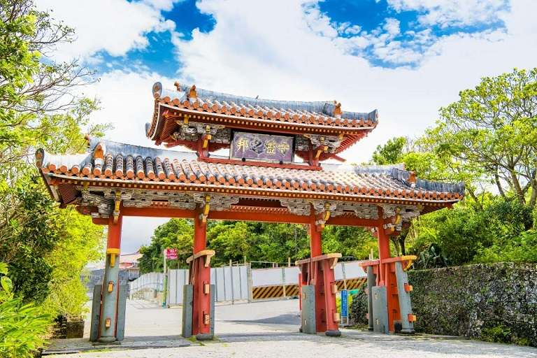 Công viên Shurijo - Du lịch Okinawa