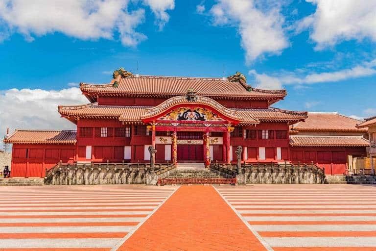 Thành cổ Shuri - Du lịch Okinawa