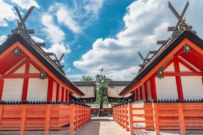 Đền Sumiyoshi - Địa điểm du lịch Nhật Bản