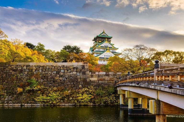 Cảnh đẹp thiên nhiên Osaka