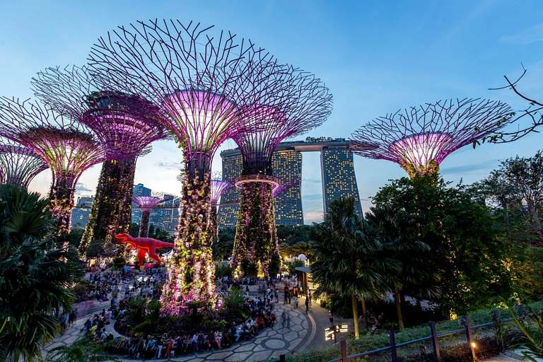 Gardens By The Bay - du lịch Singapore