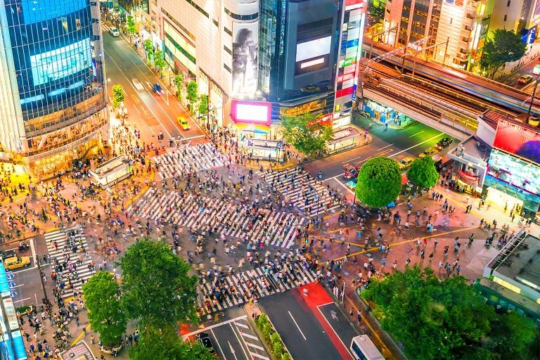 Shibuya - Địa điểm mua sắm, giải trí ở Tokyo