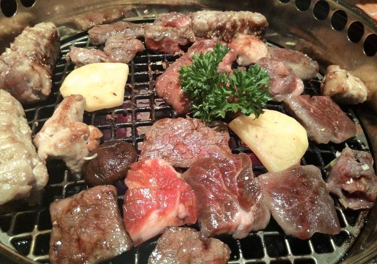 Thịt bò nướng kiểu Nhật