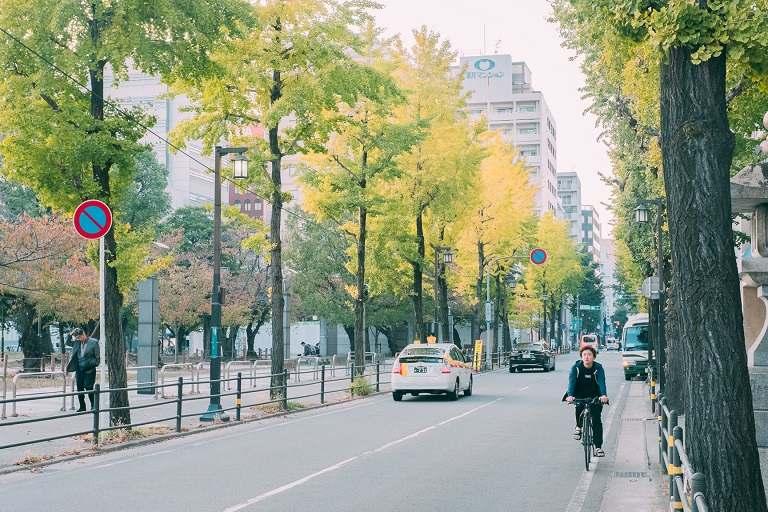 Du lịch bằng xe đạp tại Tokyo cũng là một trải nghiệm thú vị