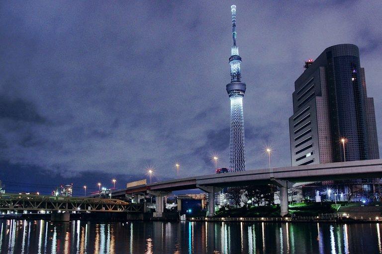 Tháp truyền hình Tokyo Skytree - Địa điểm du lịch ở Tokyo