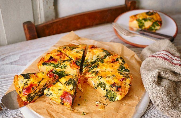 Frittata - các món ăn nổi tiếng của Ý