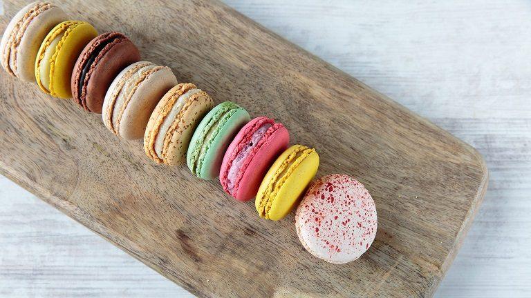 Bánh Macaron - các món ăn Pháp nổi tiếng