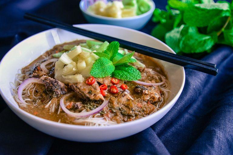 Asam laksa - Đặc sản mì Malaysia