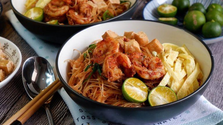 Mee Siam - Đặc sản Malaysia