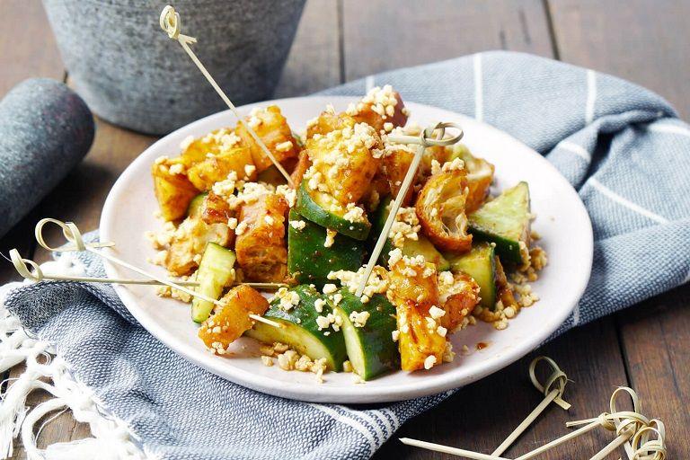 Salad rau quả Rojak - Đặc sản Malaysia
