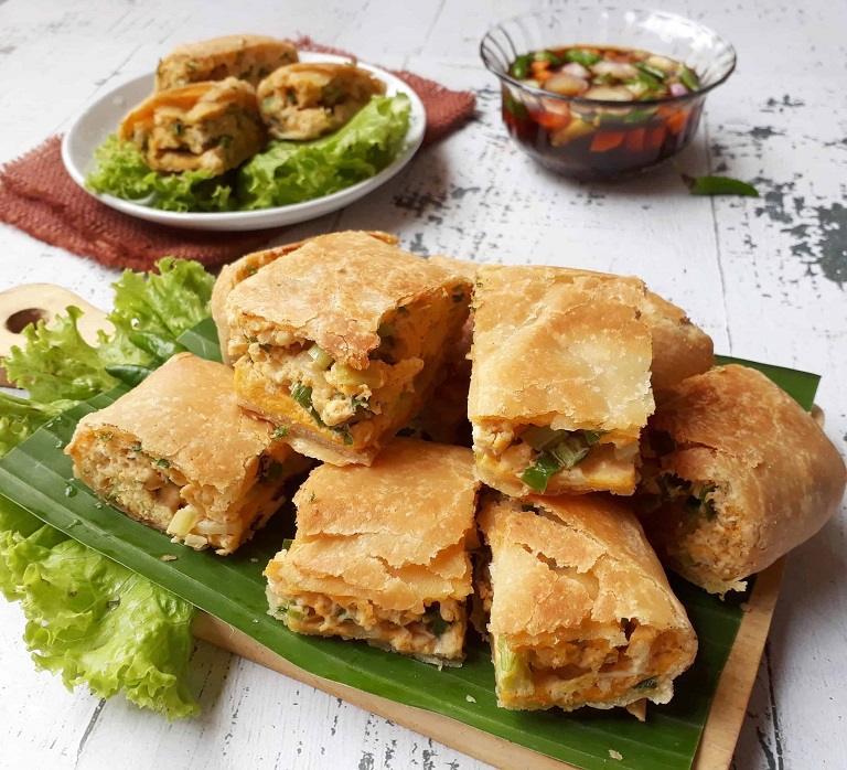 Murtabak vị mặn - Đặc sản Malaysia