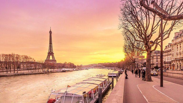 Sông Seine - Địa điểm du lịch tại Pháp nổi tiếng