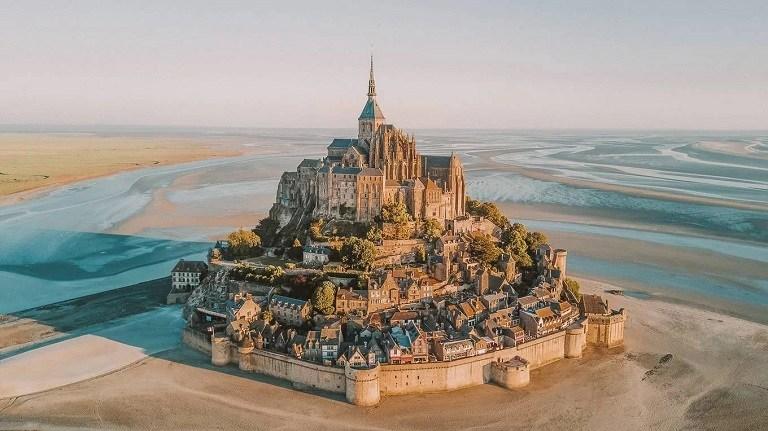 Đảo Mont Saint-Michel - địa điểm du lịch tại Pháp