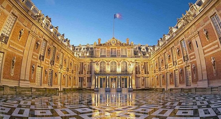 Cung điện Versailles - địa điểm du lịch tại Pháp