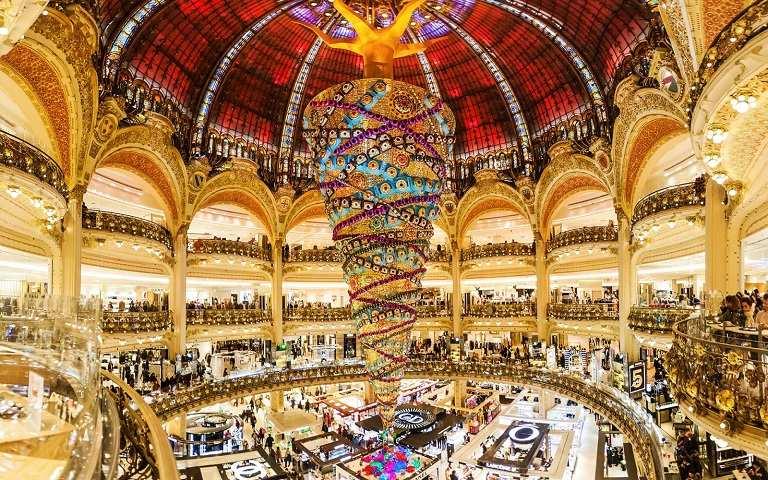Lafayette - Trung tâm thương mại nổi tiếng của Pháp