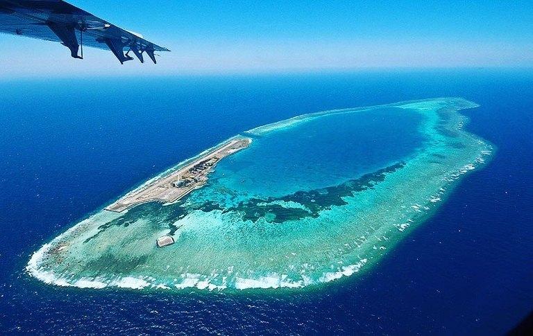 Đảo Layang Layang - Du lịch biển Malaysia