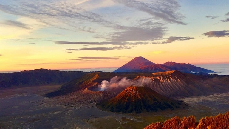 Núi lửa Bromo - Du lịch Indonesia