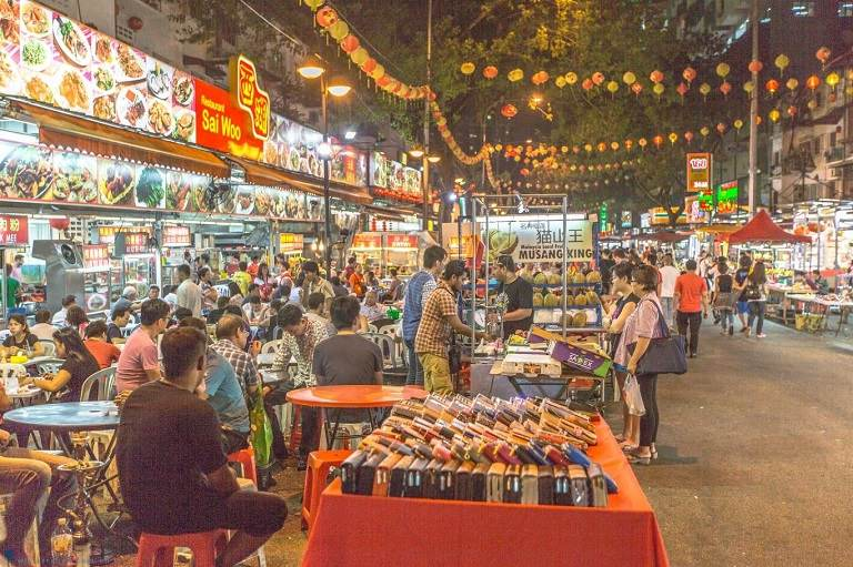 Phố ẩm thực Jalan Alor