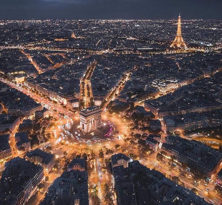 Khải hoàn môn - Du lịch Pháp