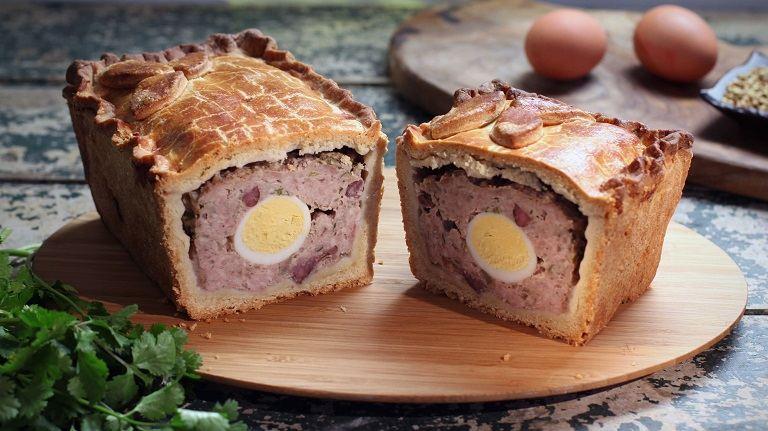 Ẩm thực nước Anh - Pork pie