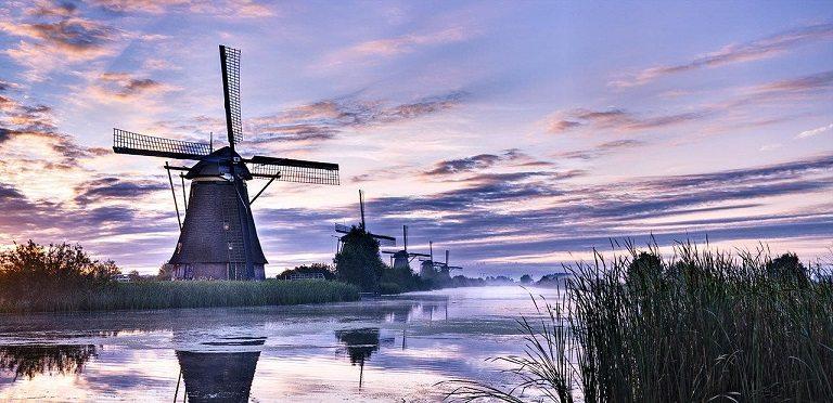 địa điểm du lịch Hà Lan - Hồ Lijsselmeer tráng lệ