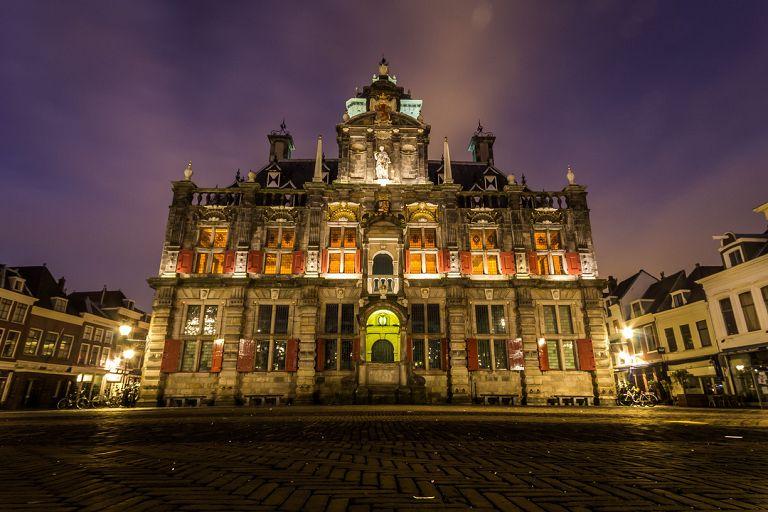 Các địa điểm du lịch Hà Lan - Tòa thị chính Delft