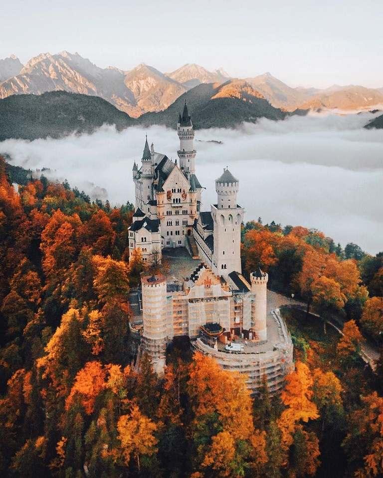 Địa điểm du lịch ở Đức - Tòa lâu đài Neuschwanstein