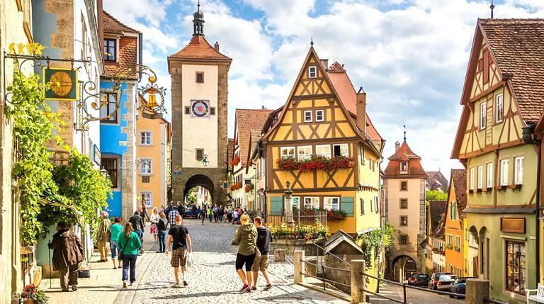 Địa điểm du lịch ở Đức - Romantic Road