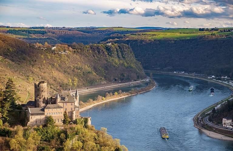 Địa điểm du lịch ở Đức - Thung lũng sông Rhine
