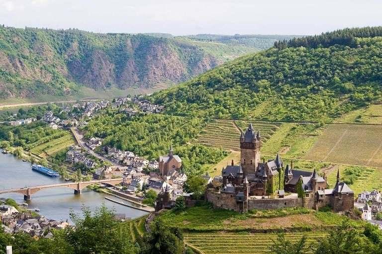 Địa điểm du lịch ở Đức - Thung lũng Moselle