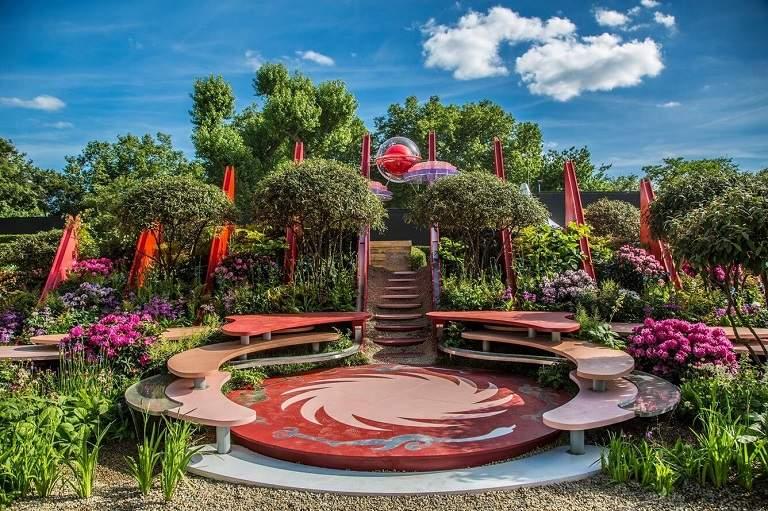 Khu vườn ở Chelsea - địa điểm du lịch tại Anh