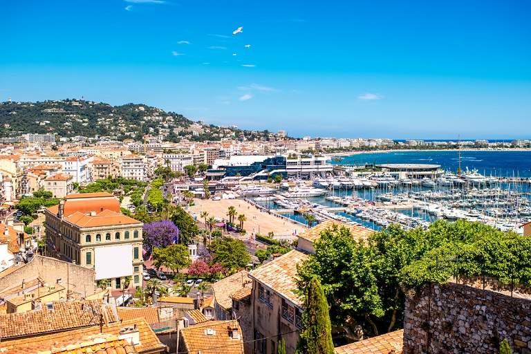 Du lịch Cannes - Thị trấn cảng Grimaud
