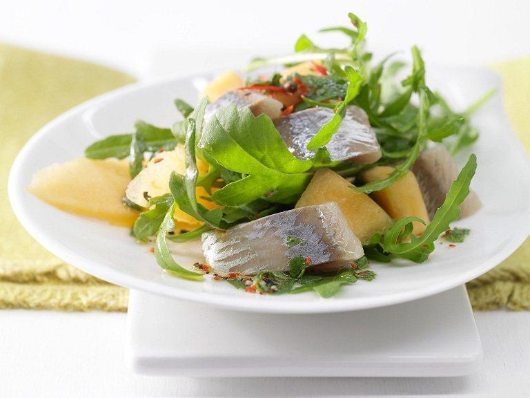 Cá mòi herring cho những người can đảm